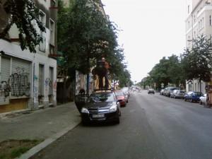Google Streetview Auto Berlin