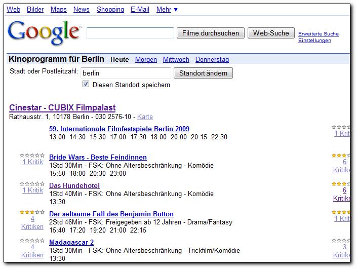 googlemovies