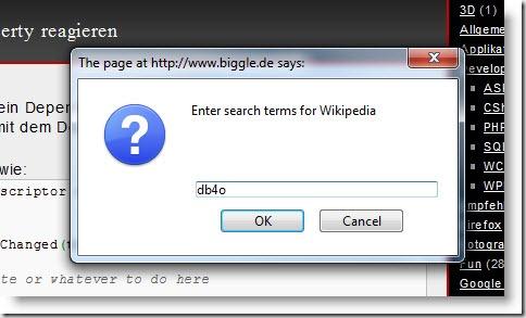 wikiBookmarklet